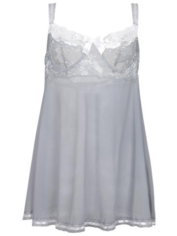 Plus Size Lace BabyDolls Dress Chemises Lingeries G string