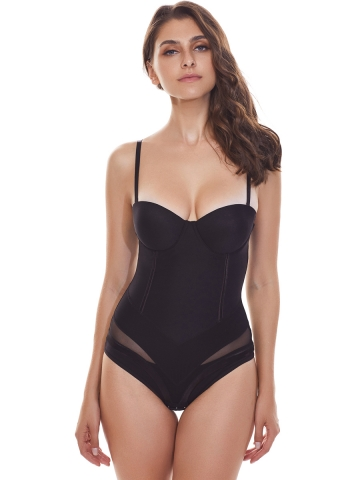 Women Bodysuit Shapewear Seamless Body Briefer Shaper