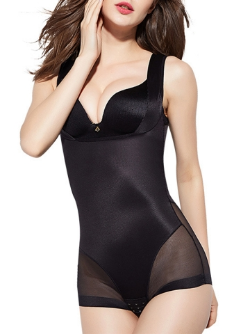 Slimming Open Bust Bodysuit Seamless Body Shaper For Women