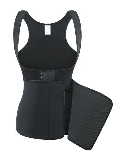 New Body Shaper Vest Top with Adjustable Waist Trimmer Belt