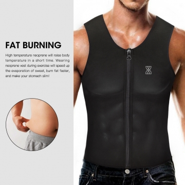 Men's weight loss Slimming shaper waist trainer vest corset