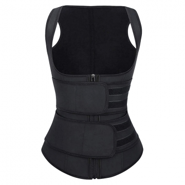 Double Straps Neoprene Shaper Vest Sports Waist Trainer Belt