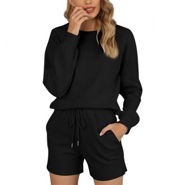 Lady Pajamas Set Leisure Nightwear Active Clothing Sleepwear
