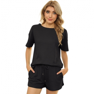 Autumn clothing Short Sleeve Women Active tracksuits casual