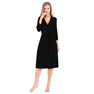 Women Household Sleepwear Velour Robes Clothe Long Bathrobes