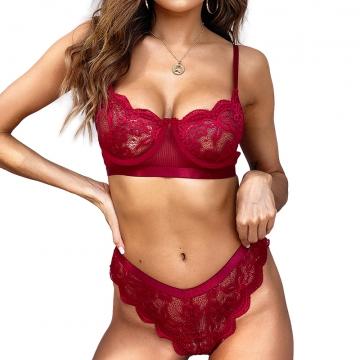 Sexy Teddies Lingerie Lace Bra Set underwear Sleepwear Women