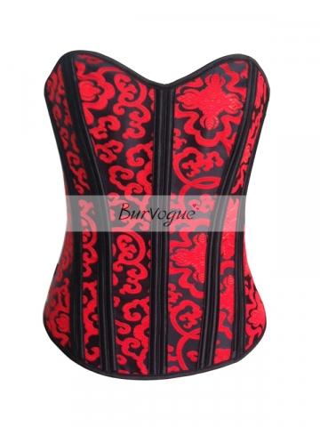 Beautiful Fashion Hot Red Clouds Wholesale Corset