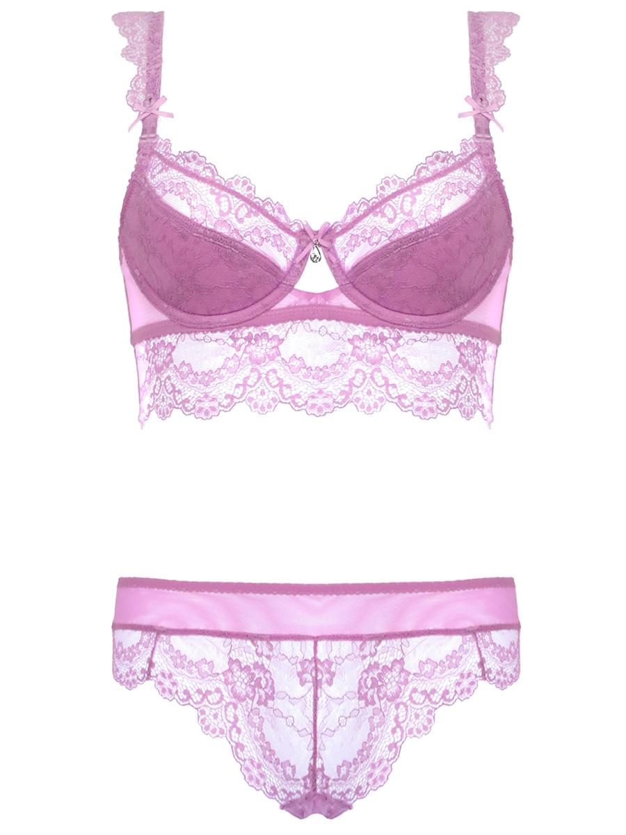 Charming Women Underwear Lace Bra Sets Intimate Brassiere