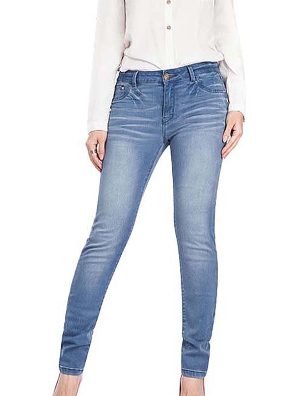 Women Stretch Butt Lifting Leggings Elastic Skinny Jeans