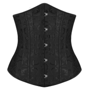 Strong 24pcs Steel bones Underbust Corset Training Bustier