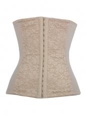 Flora Black Lace Plus Sizes Waist Training Underbust Corset