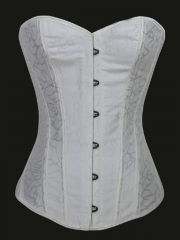 Low Back Bridal Corsets White Corset Tops Training