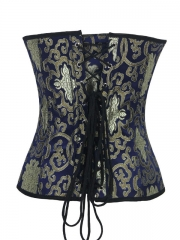 Clouds and Floral Steel Bone Corset Tops for Wholesale