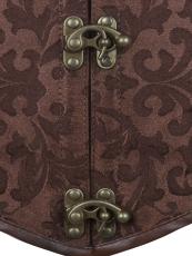 Popular Steel boned Leather Underbust Corset Wholesale