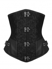 Popular Steel boned Leather Underbust Corset Wholesale