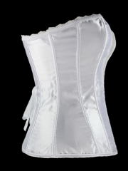 Fashion Mesh Deep-V Bridal Women Corset Tops