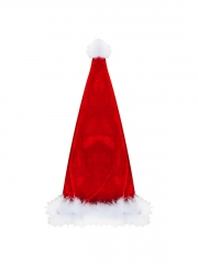 Happy Red Girl Christmas Costumes With Lovely Hat