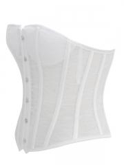 Women Fashion Bra Lace White Birdal Corset Wholesale