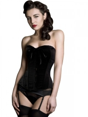 Wonderful Pure Black Prom Hot Women Corset