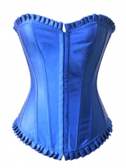 Good Quality Red Satin Classical Ladies' Overbust Corset
