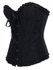 Elegant Black Corset With Wholesale Low Prices