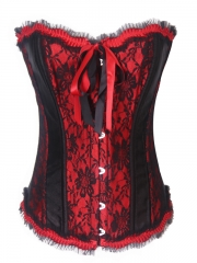 Gothic Steel Boned Corset Tops For Wholesale