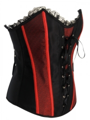 Lace-up Side Hook And Eye Women Corset