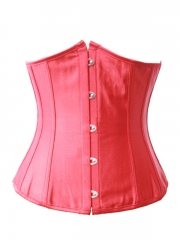 Women Red Underbust Corset Wholesale