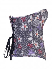 Denim Floral Hot Ladies' Corset Tops
