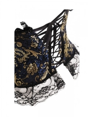 Fashion Paisley Overbust Wholesale Corset