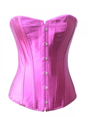 Best Sale Solid Purple Women Overbust Corset Wholesale