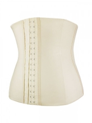 Women Latex Waist Training Corset Steel Bone Waist Cincher