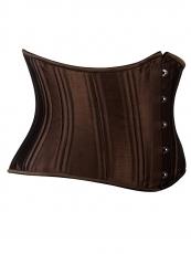 Stylish Satin Bustier Double Strong Steel Boned Corset