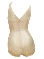 Skin Slimming Mesh Body Shaper Bodysuits Shapewear For Women