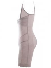 Noble Body Shaper Lace Body Slimmer Mesh Shapewear For Women