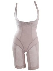 Noble Body Shaper Lace Body Slimmer Mesh Shapewear For Women