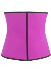 Slimming Latex Shaper Steel Bone Latex Waist Training Corset