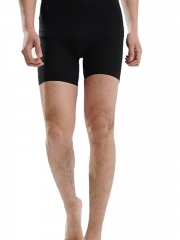 New Black Mens Shaper Pants Short Waist Control Underwear