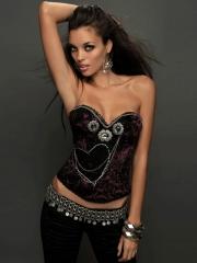 Pretty Girl Luxury Jewellery Fashion Outwear Corset