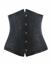 Double Steel Bone Jacquard Waist Training Corset Wholesale