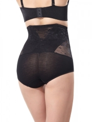 Sheer Lace Tummy Control Shapewear Body Shaper For Women