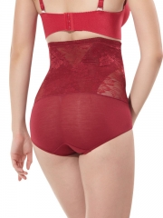 Sheer Lace Tummy Control Shapewear Body Shaper For Women