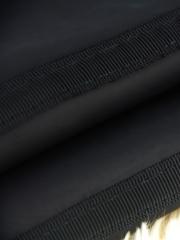 New Black Latex Steel Boned Waist Training Underbust Corset