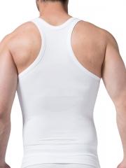Comfortable Mens Waist Trainer Bodybuilding Tank Tops Shirt