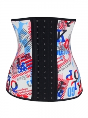 Beautiful Latex Waist Cincher Steel Boned Underbust Corset