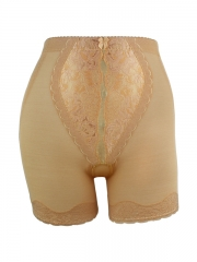 Women Overlay Lace Control Pants Sexy High Waist Body Shaper
