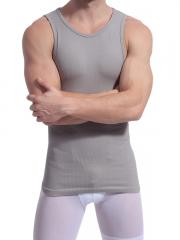 Breathable Mens Waist Trainer Tank Tops Shirt Body Shaper