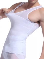 Mens Waist Trainer Tank Top Undershirt Body Shaper Wholesale