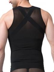 3 Hook And Eye Mens Waist Trainer Slimming Belt Body Shaper