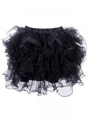 Hot Sale For Women Skirt Black Lace TuTu